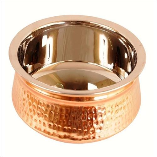 Mughlai Copper Handi