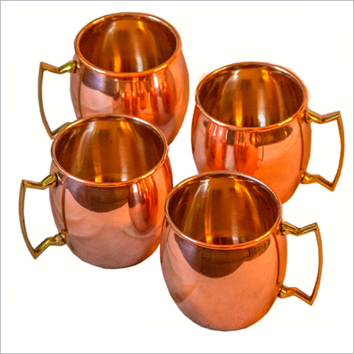 Copper Plated Mule Mug