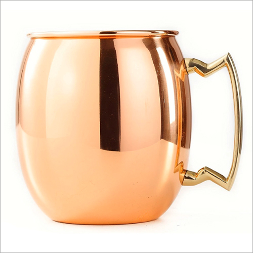 Plain Copper Mule Mug