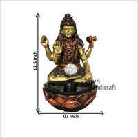 Indoor Decorative Table Top Water Fountain Shiva
