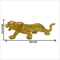 Gold And Silver Plated Decorative Panther