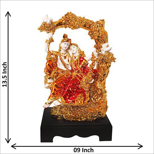 Gold Plated Krishana Statue