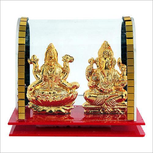 Lord Ganesh Laxmi Cabinet Showpiece Idol Corporate Gift