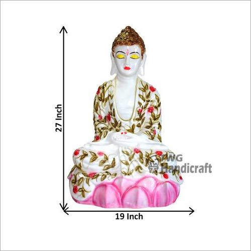 Marble Look Decorative Buddha Statue