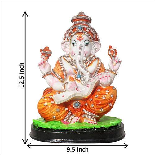 Decor Marble Ganesh Statue