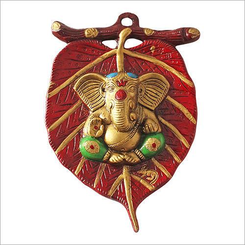 Metal Lord Ganesha Wall Hanging