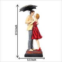 Wedding Anniversary Couple Statue