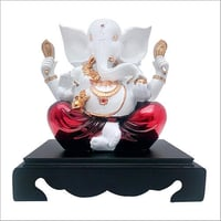 White Look Lord Ganesha Idol
