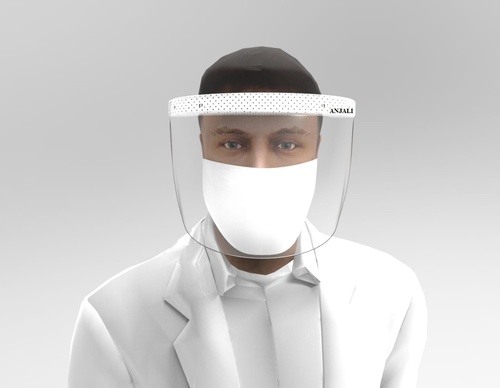 SURGICAL ISOLATION FACE MASK SHIELD