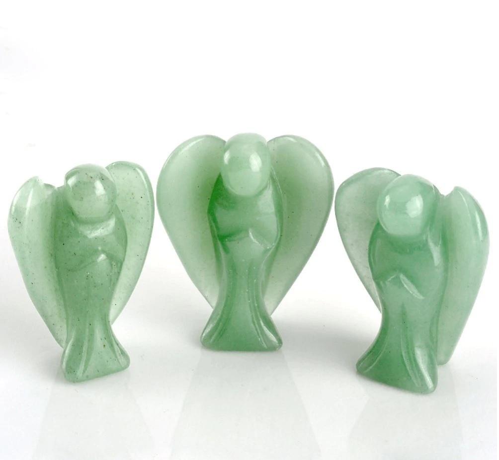 Green Aventurine Angel