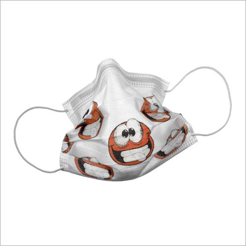 Smily Edition Orange Face Mask