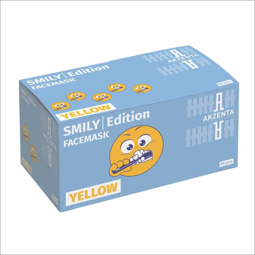 Smily Edition Yellow Face Mask