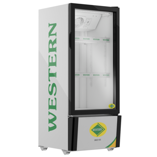 167 Ltr Western Single Door Visi Cooler