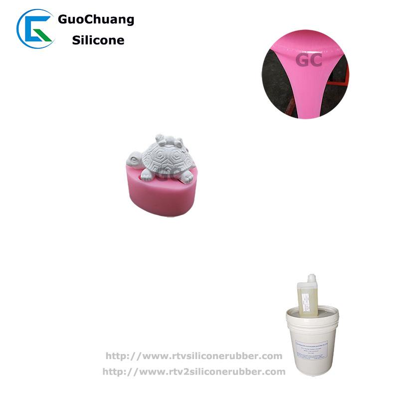 rtv2 liquid silicone rubber for soap mold casting