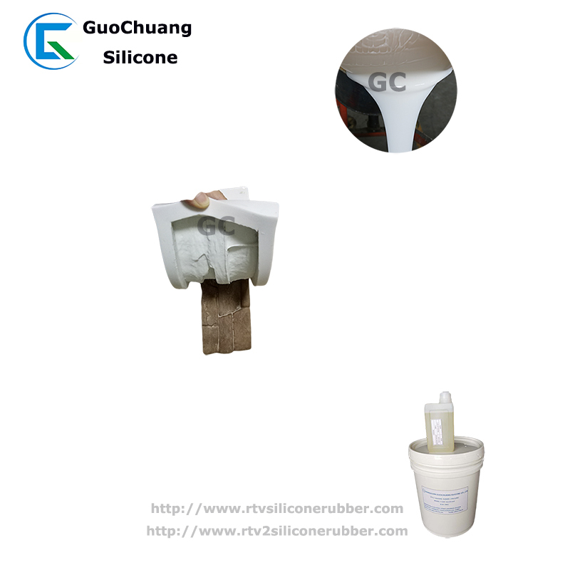 rtv2 liquid silicone rubber for artificial stone soap molds making