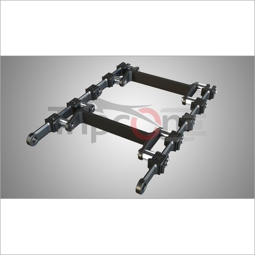 142 Mm Pitch Drag Chain
