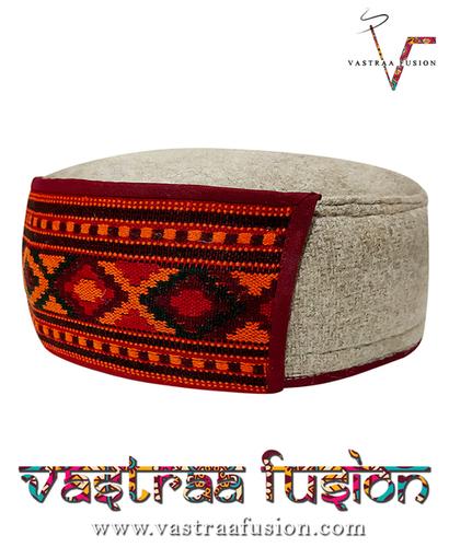 Kullu传统Pahari遮阳帽