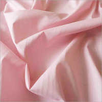 Pink Polyester Cotton Fabric