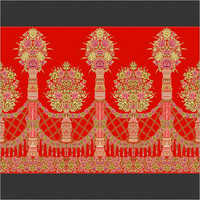Red Wedding Curtain