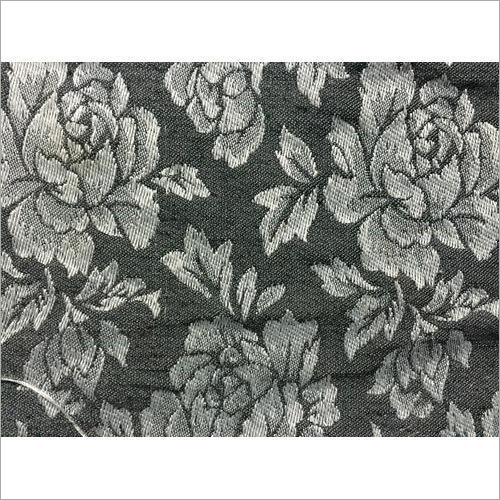 Embroidered Cotton Jacquard Fabric