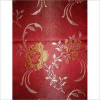Floral Print Jacquard Fabric