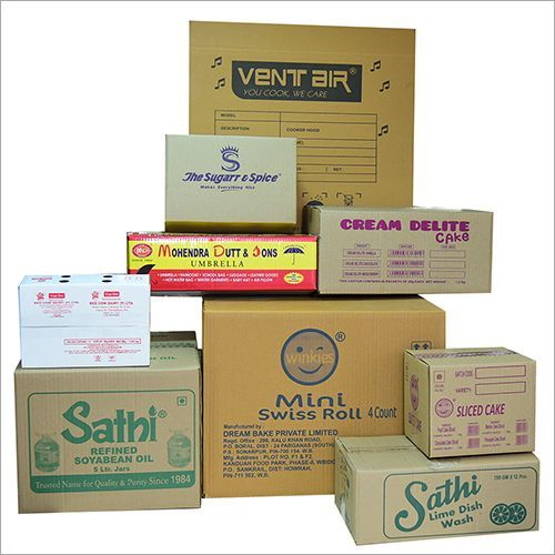 Flexo Printed Carton Box