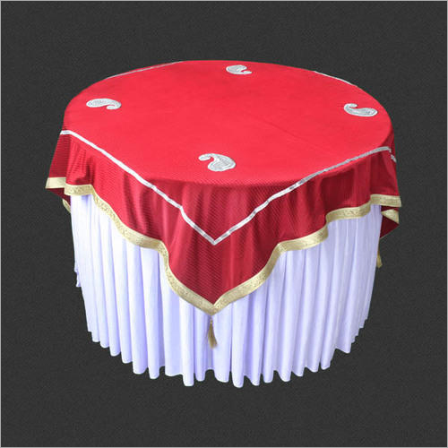 Printed Wedding Round Table Cover