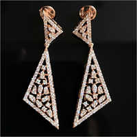 Diamond Party Wear Earring