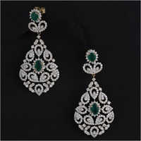 Diamond Panna Vivaah Collection Earring