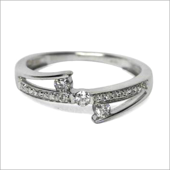 Diamond Stone Solitaire Ring