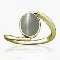 Gold And Cat Eye Ring