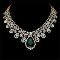 Diamond Bridal Panna Necklace