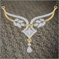 Ladies Diamond Mangalsutra