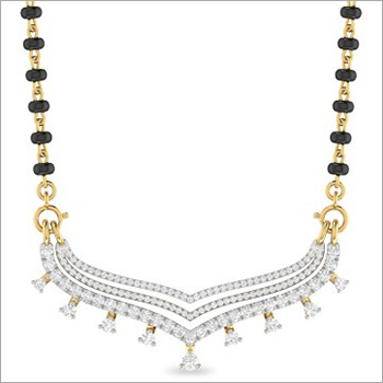 Traditional Diamond Mangalsutra