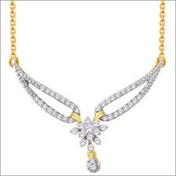 Ladies Traditional Diamond Mangalsutra