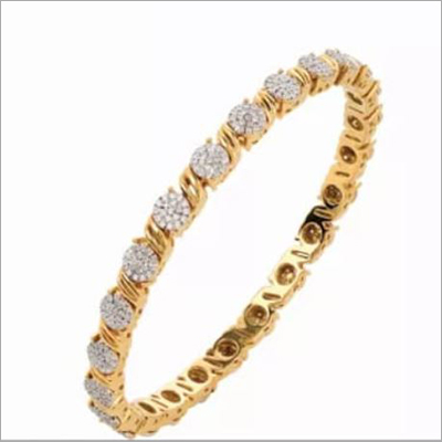 Miracle Setting Diamond Bangle