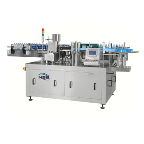 Fully Automatic Single Side Flat Bottle Labeling Machine
