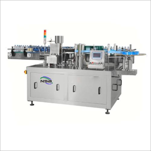 Fully Automatic Single Side Flat Bottle Labeling Machine