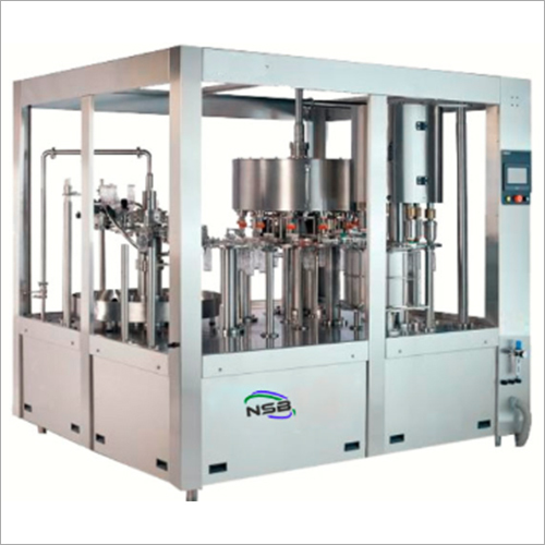 Industrial Rinsing Filling Capping Machine