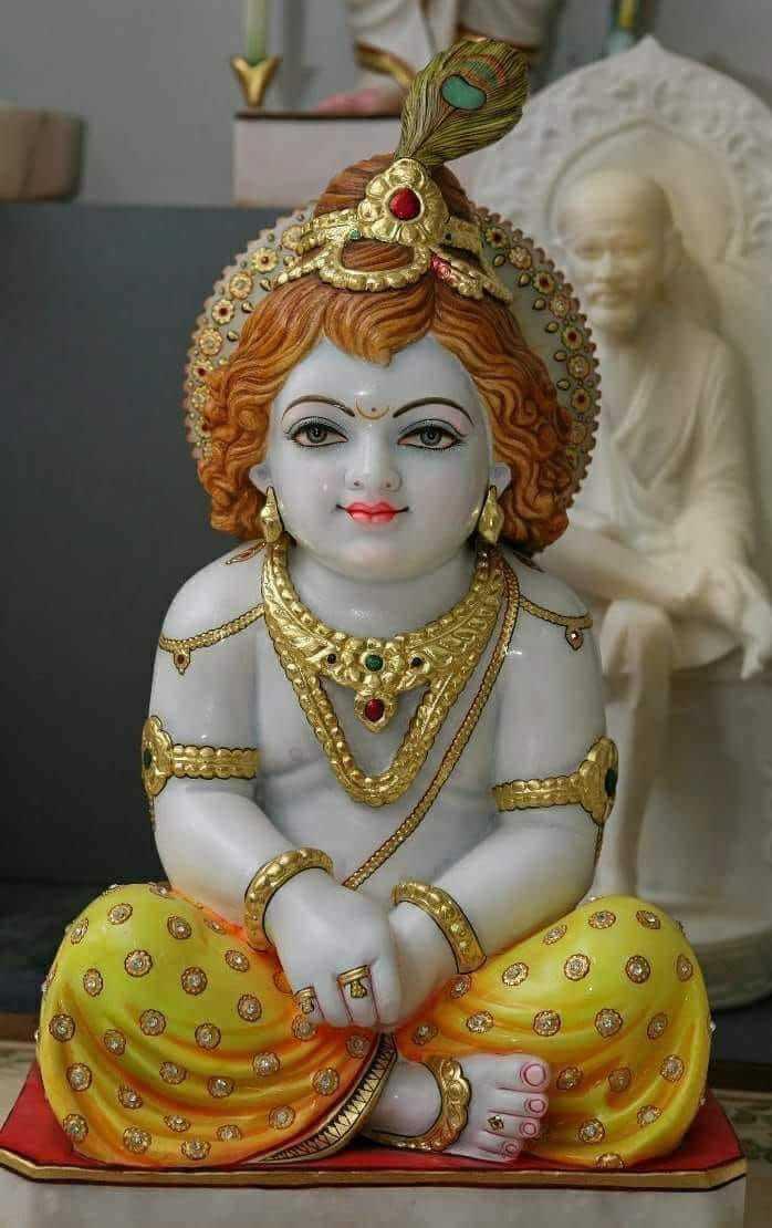 Marble Laddu Gopal