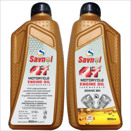 Savnol 4 Stroke Engine Oil