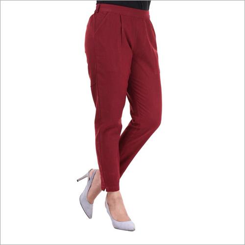 Ladies Ankle Length Pant