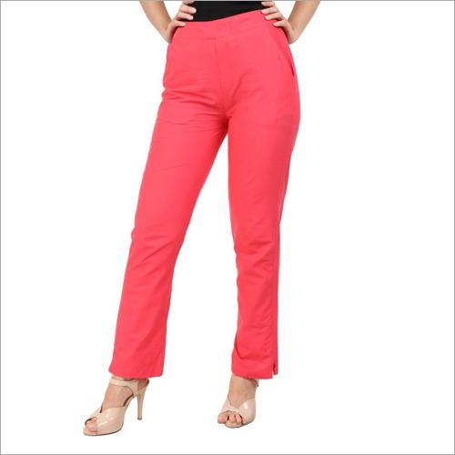 Ladies Straight Fit Pant