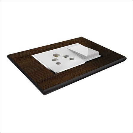 Wood Finish Modular Plate