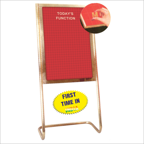 Brass Magnagraph Magnetic Display Board