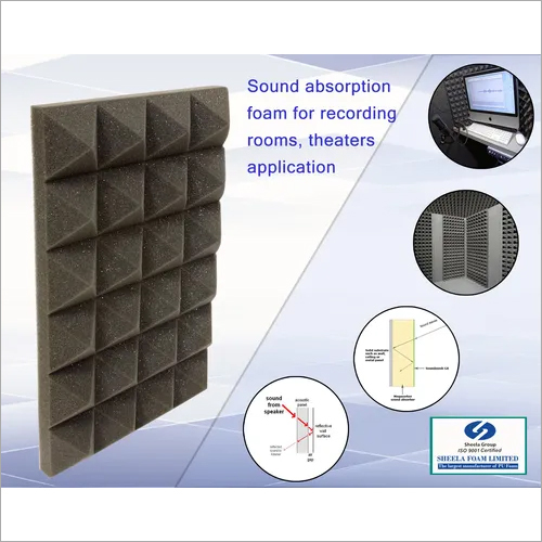 Black BS5852 Noise Reduction Foam