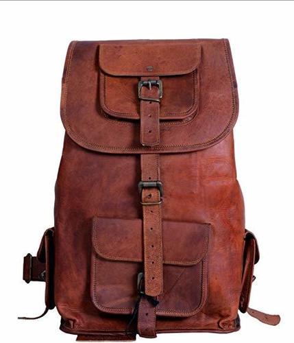 School Leather Bag