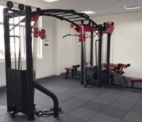 Cable Crossover With Monkey Bar
