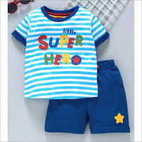 Kids Stylish T Shirt With Shorts Set