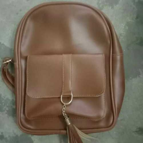 leather kids bag